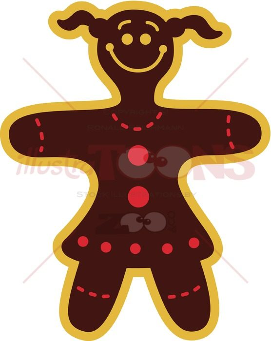 Beautiful-Christmas-Cookie-Woman