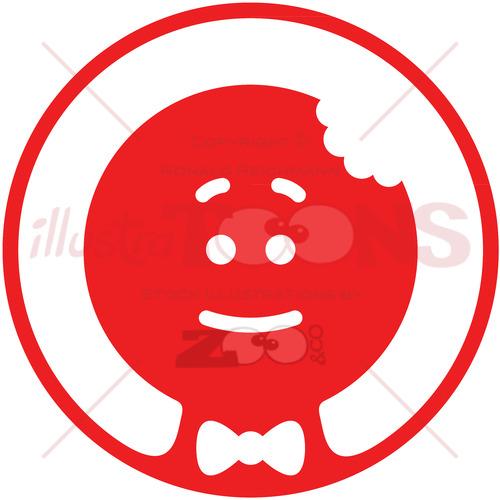 Christmas Cookie Man pictogram - illustratoons