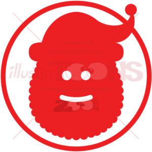 Christmas Santa Claus pictogram - illustratoons