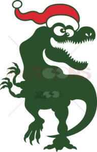 Christmas-Tyrannosaurus-Rex-dancing