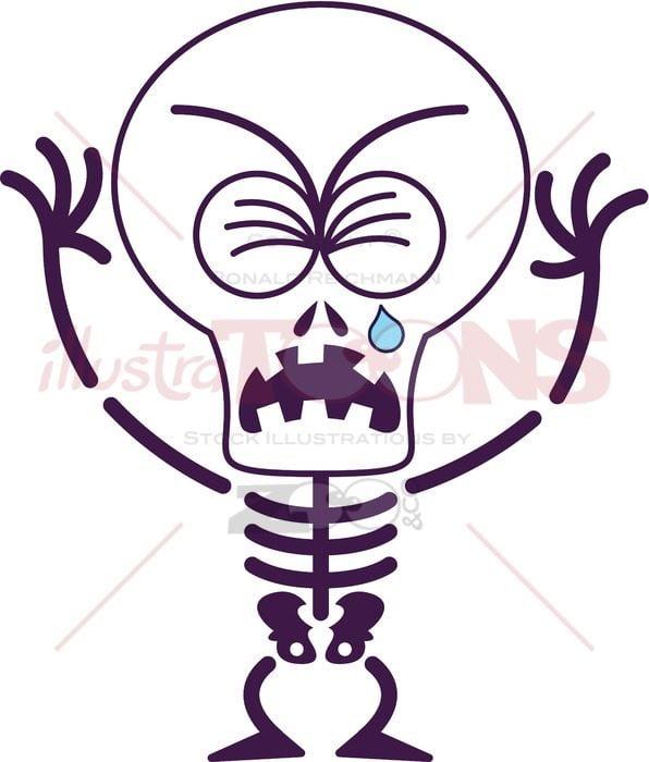 Cute-Halloween-skeleton-crying-and-sobbing