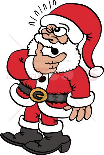 Doubtful Santa Claus