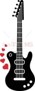 Electric-guitar-playing-romantic-songs