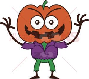 Halloween-scarecrow-smiling-mischievously
