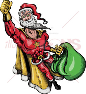 Santa-Claus-is-a-Superhero