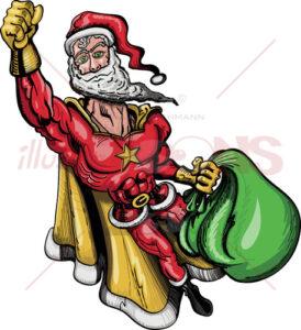 Santa-Claus-is-a-Superhero