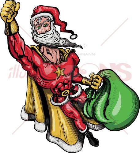 Santa Claus is a Superhero