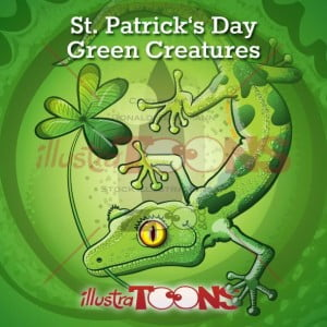 St-Patrick-day-green-creatures-collection