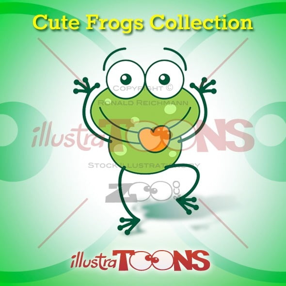 Cute Frogs Collection