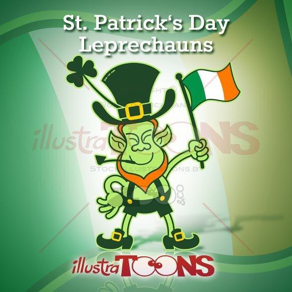 Saint Patrick Day Leprechauns Collection