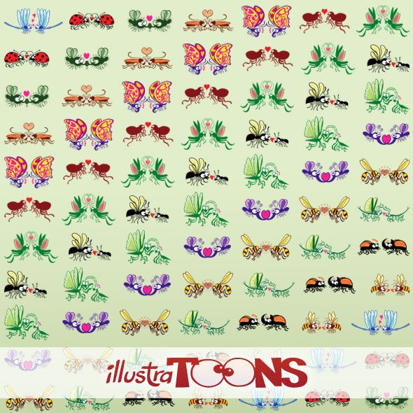 Insects in Love Collection