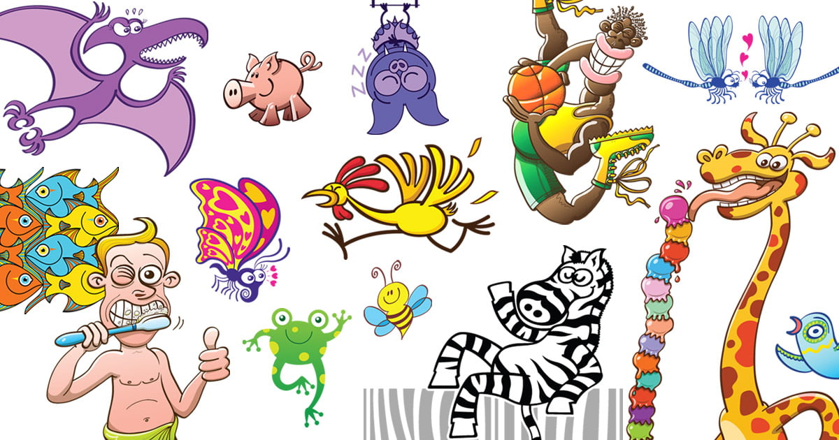 Royalty-Free Vector Toons