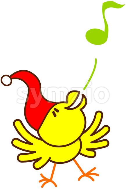 Join this funny bird to sing sweet Christmas carols!