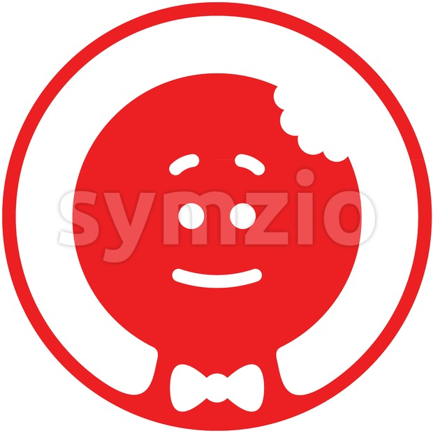Christmas Cookie Man pictogram Stock Vector